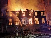 Крупный ночной пожар в Туле, Фото: 16