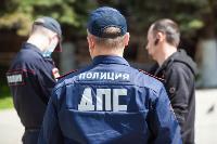 Полицейский рейд в тульских маршрутках: на пассажиров без масок составляют протоколы, Фото: 42