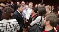 Встреча Владимира Груздева с предпринимателями 13.03.14, Фото: 19