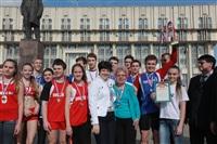 Легкоатлетическая эстафета школьников. 1.05.2014, Фото: 67