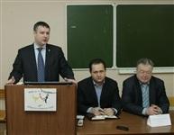 Встреча Дениса Бычкова со студентами иняза ТГПУ, Фото: 1
