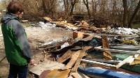 В Туле на берегу Тулицы обнаружен незаконный мусорный полигон, Фото: 7