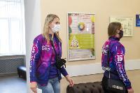 "Волейболистки ""Тулицы"" сделали прививки от гриппа, Фото: 2"