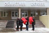 Депутаты Тульской облдумы подарили пациентам областной детской больницы новогодние подарки, Фото: 3