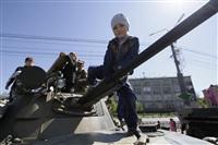 Празднование 69-й годовщины победы в Великой Отечественной войне на площади Победы. Тула, Фото: 41