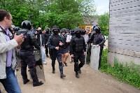 В Плеханово начали сносить дома в цыганском таборе, Фото: 29
