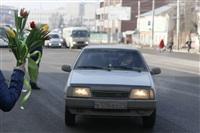 Полицейские поздравили автоледи с 8 Марта, Фото: 28