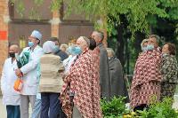 Учения МЧС: В Тульской областной больнице из-за пожара эвакуировали больных и персонал, Фото: 9