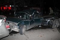 В Туле пьяный на Audi протаранил пять автомобилей, Фото: 3