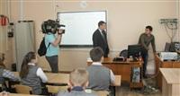 Денис Бычков проверил один их тульских пунктов сдачи ЕГЭ , Фото: 1