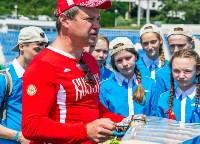 Чемпион мира по авиамодельному спорту из Алексина выступил в «Артеке», Фото: 11