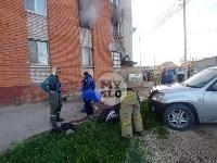 Пожар в общежитии на ул. Фучика, Фото: 2