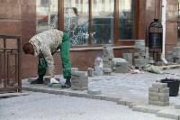 На ул. Советской меняют тротуарную плитку, Фото: 2