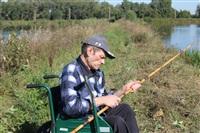 Тульские инвалиды-колясочники выехали на рыбалку, Фото: 4