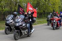 Тульские байкеры почтили память героев в Ясной Поляне, Фото: 40