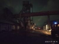 В Ясногорске загорелся склад для хранения зерна, Фото: 9