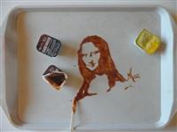 Мона Лиза, соус барбекю, Фото: 9