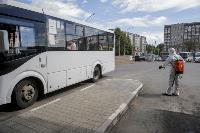 Тульские спасатели продезинфицировали автовокзал «Восточный», Фото: 31