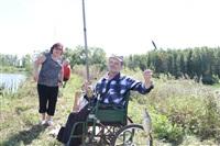 Тульские инвалиды-колясочники выехали на рыбалку, Фото: 22