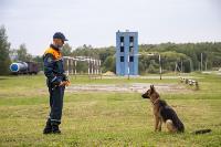 Испытания кинологов в Тульском спасательном центре, Фото: 32
