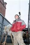 Утром 15 ноября в Тулу привезли шпиль для колокольни Успенского собора, Фото: 5