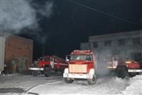 Пожар на складе ОАО «Тулабумпром». 30 января 2014, Фото: 19