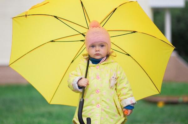 осень под зонтом. в июле ))