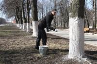 Субботник в Комсомольском парке с Владимиром Груздевым, 11.04.2014, Фото: 36
