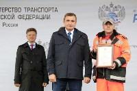 В Суворовском районе  введен в эксплуатацию участок автодороги «Калуга-Перемышль-Белёв-Орёл», Фото: 24
