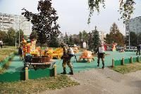 В Туле проходит масштабная дезинфекция общественных пространств, автобусов и маршруток, Фото: 3