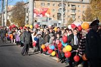 Третий этап эстафеты олимпийского огня: проспект Ленина, Фото: 4