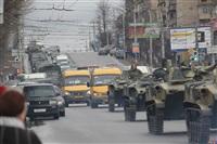 По Туле прошла колонна военной техники, Фото: 6