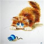 Рисованные котики, Фото: 2