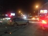 Аварии на перекрестке Красноармейского проспекта и ул. Фрунзе вечером 25 ноября, Фото: 2