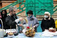 Туляки освящают пасхи и куличи, Фото: 31