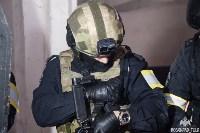 Учения: В Тульской области СОБР и ОМОН обезвредили вооруженных преступников, Фото: 2