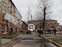 На улице Металлургов в Туле загорелась квартира , Фото: 2