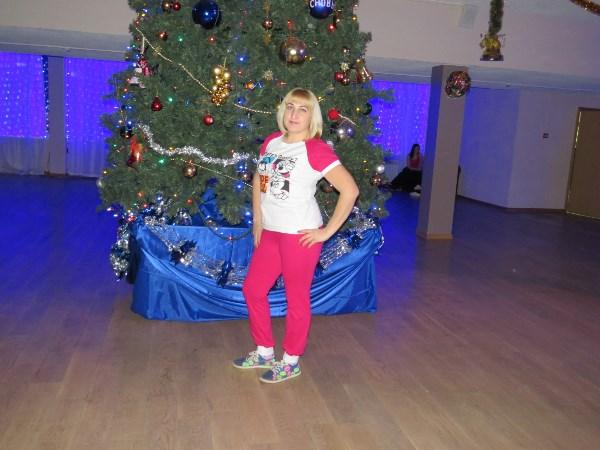 в городском концертном зале на Zumba-пати)))