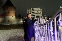 Дюмин осмотрел новогоднюю Тулу, Фото: 19