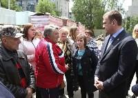 Алексей Дюмин проинспектировал работы по восстановлению дома в Ясногорске, Фото: 8