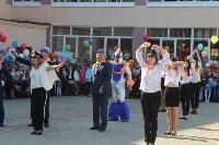 1 сентября в тульских школах прошли праздничные линейки , Фото: 17
