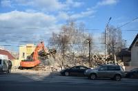Снос аварийного дома на улице Октябрьской, Фото: 56