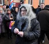 Кимовские новоселы получили ключи из рук губернатора Владимира Груздева, Фото: 10