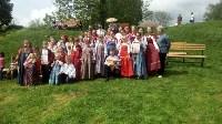 В Ясной Поляне прошел фестиваль молодежных фольклорных ансамблей «Молодо-зелено», Фото: 5
