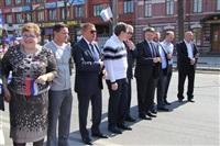 Тульская Федерация профсоюзов провела митинг и первомайское шествие. 1.05.2014, Фото: 43