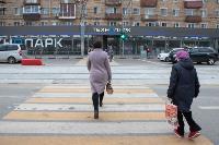 На ул. Советской в Туле убрали дорожные ограждения с трамвайных путей, Фото: 16