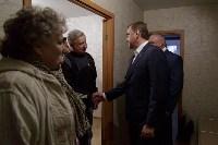 Алексей Дюмин посетил дом в Ясногорске, восстановленный после взрыва, Фото: 22