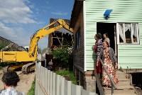 В Плеханово начали сносить дома в цыганском таборе, Фото: 70