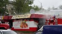 В Ясногорске сгорел продуктовый магазин. 16 мая 2015, Фото: 5