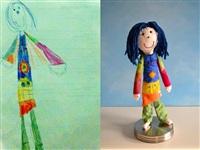 Игрушки, сшитые по рисункам детей, Фото: 7